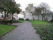 View of the former site of the church from the west. Image: Emma Dryburgh (December 2007)  Image ID: 10424_04.JPG