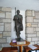 Statue of St. Columba