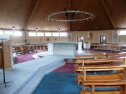 Interior of church, taken from southeast. Image: Miriam Buncombe (May 2008)  Image ID: 1046_13.JPG