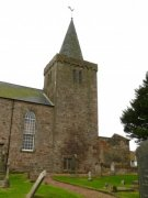 North elevation of Kilrenny Parish Church tower. Image: Kirsty Owen (October 2007)  Image ID: s1298_14.JPG