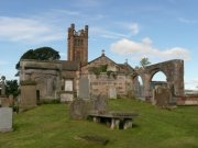 Kilconquhar Old and new parish church. Image: Kirsty Owen (August 2007)  Image ID: s4699_21.JPG