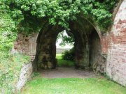 Lindores Abbey chapter house. Image: Kirsty Owen (June 2007)  Image ID: 1438_04.JPG