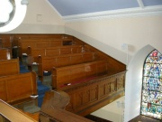 Gallery pews from south east