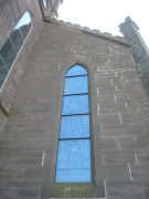 One of the nave's windows