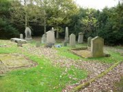 Graveyard to the south of Abercrombie Parish Church. Image: Kirsty Owen (November 2007)  Image ID: s1488_14.JPG