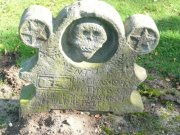 Seventeenth-eighteenth century headstone. Image: Ewan Malecki (October 2007)  Image ID: 1641_07.JPG