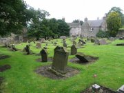 View of the churchyard, taken from the north east. Image: Amanda Gow (August 2007)  Image ID: 1642_84.JPG