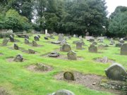 View of the churchyard from the southwest. Image: Amanda Gow (August 2007)  Image ID: 1642_93.JPG