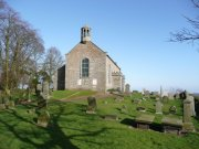 View of the church and graveyard from the south west. Image: Stuart Mee (Feb. 2008)  Image ID: 2158_17.JPG
