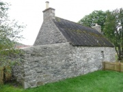 One of the cottage outbuildings from the NE