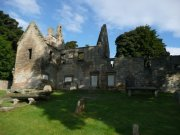 Church and Dunfermline Aisle, from southeast. Image: Ewan Malecki (September 2007).  Image ID: 2227_03.JPG