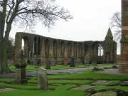 View of refectory ruins from north east. Image: Sarah Kettles (November 2007)  Image ID: 2260_214.JPG