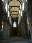 Nave of the Abbey Church, taken from the east. Image: Emma Dryburgh (November 2007)  Image ID: 2260_126.JPG