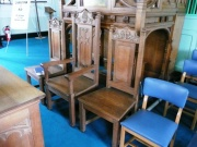Minister's, Elders' chairs