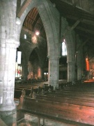 arcade arch in the nave