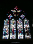 Great West stained glass window
