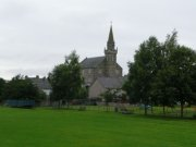 Ceres Parish Church, from the village green. Image: Kirsty Owen (July 2007)  Image ID: s3700_01.JPG