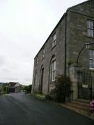 West elevation of Ceres Parish Church. Image: Kirsty Owen (July 2007)  Image ID: s3700_03.JPG