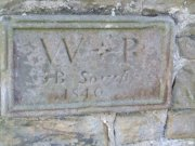 Date stone in eastern face of vestry extension. Image: James Sinclair (August 2007)  Image ID: 3799_35.JPG