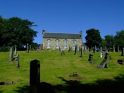 Graveyard to the southern side of the church. Image: James Sinclair (August 2007)  Image ID: 3799_04.JPG