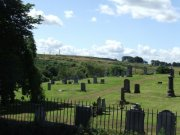 View of Old Beath Cemetery from the east. Image: James Sinclair (August 2007)  Image ID: 3799_31.JPG