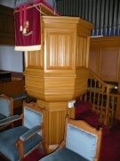 The pulpit from the south-east