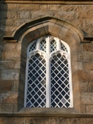 One of the tower windows