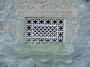 Air vent in the east wall
