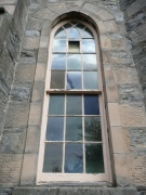 One of the south windows