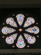 Rose window from north west