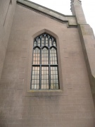 S gable nave window