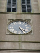 Clockface in the tower