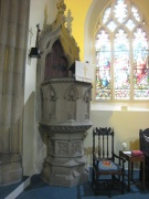 View of the pulpit