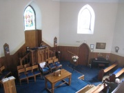 Interior view from the gallery