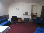 View of the vestry area