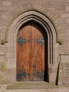 pointed arch doorway