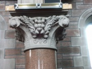 detail of capital moulding