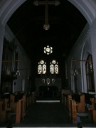 Interior view to the East