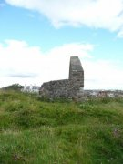 The remains of Earlsferry Chapel from the north. Image: Kirsty Owen (August 2007)  Image ID: s4648_03.JPG