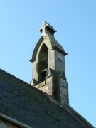 Bellcote on the west gable of Boarhills Church. Image: Kirsty Owen (August 2007)  Image ID: s4668_13.JPG