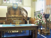 Pulpit and lectern