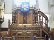 Pulpit detail