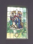 'The Nativity': Window taken from the Chapel at Elie House Convent to be placed in St. Margaret's Memorial Church