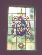 'Pieta': Window taken from the Chapel at Elie House Convent to be placed in St. Margaret's Memorial Church