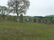 Graveyard to the west of chapel. Image: Kirsty Owen (May 2007).  Image ID: s4692_18.JPG