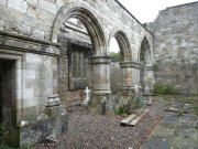 North arcade of Lord Ninian Crichton Stuart Memorial Chapel: Kirsty Owen (September 2007)  Image ID: s4698_05.JPG