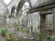 South arcade of Lord Ninian Crichton Stuart Memorial Chapel: Kirsty Owen (September 2007)  Image ID: s4698_04.JPG