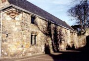Side elevation of chapel taken from within grounds of St. Leonard's school, taken c. 2003.  Image ID: 4715_8.JPG