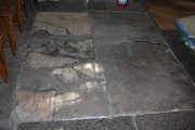 Memorial floor slab in nave. Image: Miriam Buncombe (May 2008)  Image ID: 4715_35.jpg