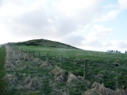 Dunnideer Hill, where a chapel may have been located
